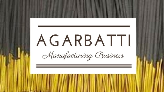 agarbatti making business india