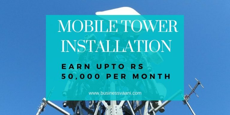 Rent Out Property To Mobile Tower Company In India