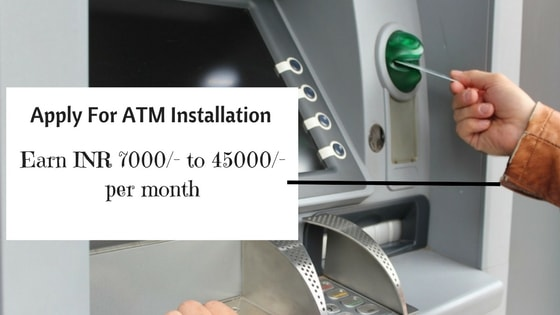 apply for atm installation