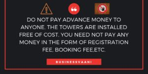 mobile tower scam