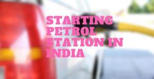 petrol pump business plan