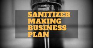 sanitiser business plan