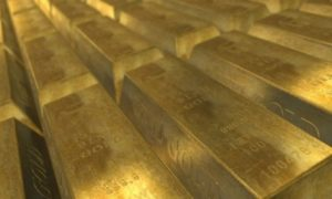 image of gold bars